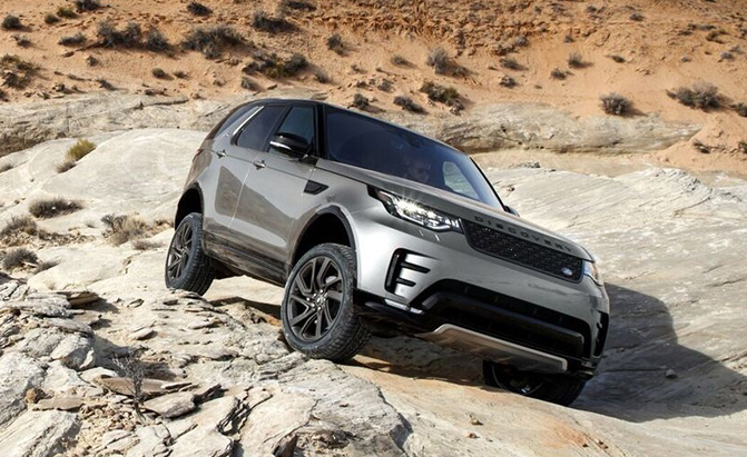 Jaguar Land Rover off-road