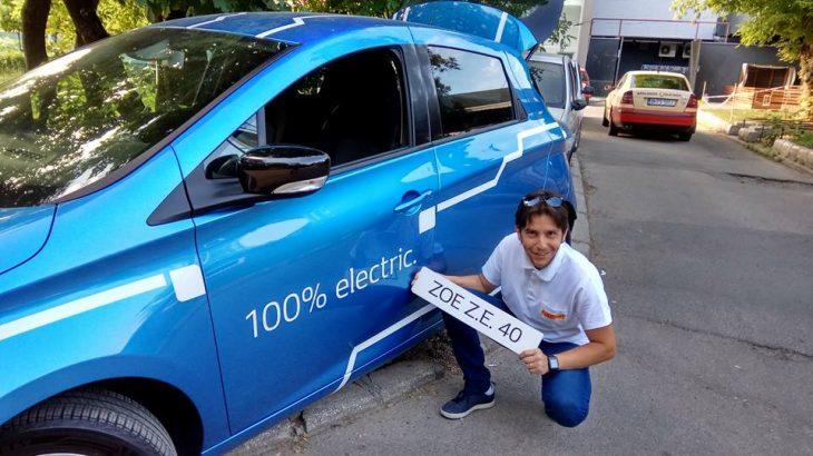 100% electric: București-Arad tur-retur cu Renault Zoe