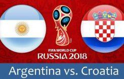 World Cup 2018- Meciul 23: Avancronică Argentina-Croația