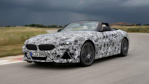 Viitorul BMW Z4 M40i se pregătește pentru distracție