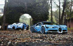 Așa arată cel mai accesibil Bugatti Chiron construit vreodată. E făcut din piese LEGO