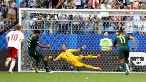 World Cup 2018- Meciul 21: Cronică Danemarca-Australia 1-1