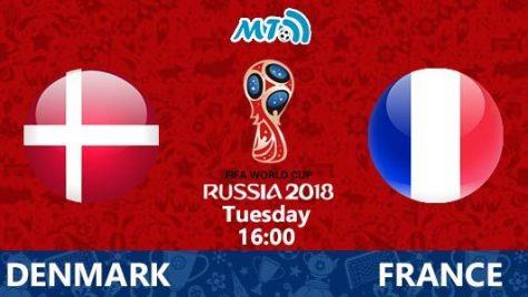 World Cup 2018- Meciul 38: Avancronică Danemarca-Franța