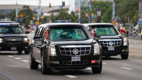 Trump se dă mare! I-a arătat limuzina prezidențială lui Kim Jong-Un