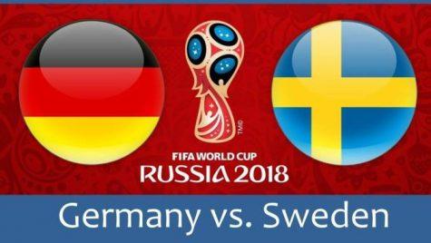 World Cup 2018- Meciul 29: Avancronică Germania-Suedia