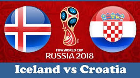 World Cup 2018- Meciul 40: Avancronică Islanda-Croația