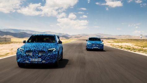 Mercedes-Benz EQC, surprins cu un camuflaj nou