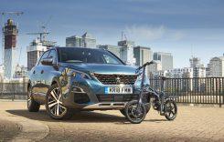 Peugeot 5008 vine cu bicicletă electrică