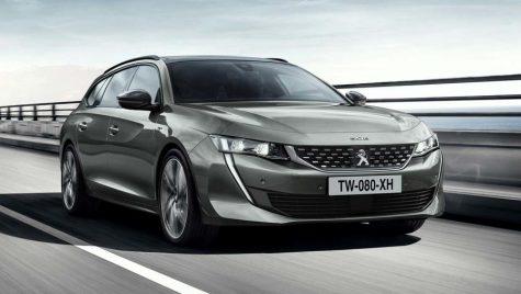 OFICIAL: Peugeot 508 SW vine cu un look îndrăzneț și sistem iCockpit