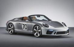 Porsche aniversează 70 de ani de mașini sport cu un concept cu 500 CP: Porsche 911 Speedster