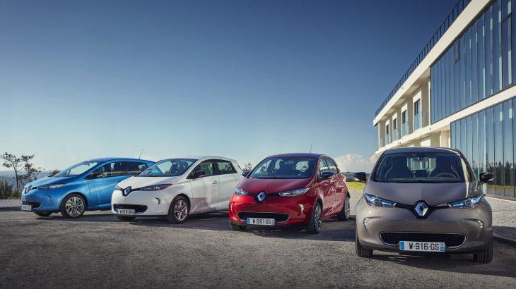 Renault investește un miliard de euro pentru a construi mașini electrice