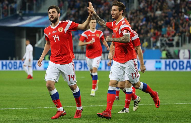 Rusia fotbal