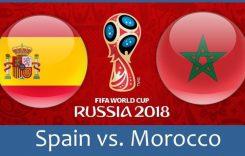 World Cup 2018- Meciul 35: Avancronică Spania-Maroc