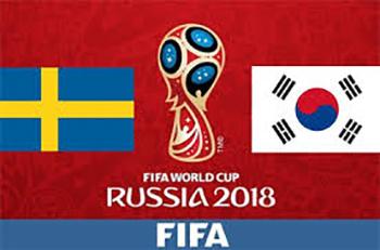 World Cup 2018- Meciul 12: Avancronică Suedia-Coreea de Sud