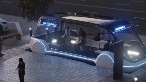 Tesla Model X testează pasajele subterane construite de The Boring Company