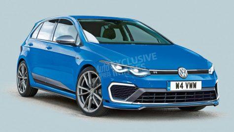 Volkswagen Golf R va fi cel mai rapid Golf din istorie