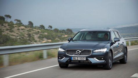 Primul test drive Volvo V60