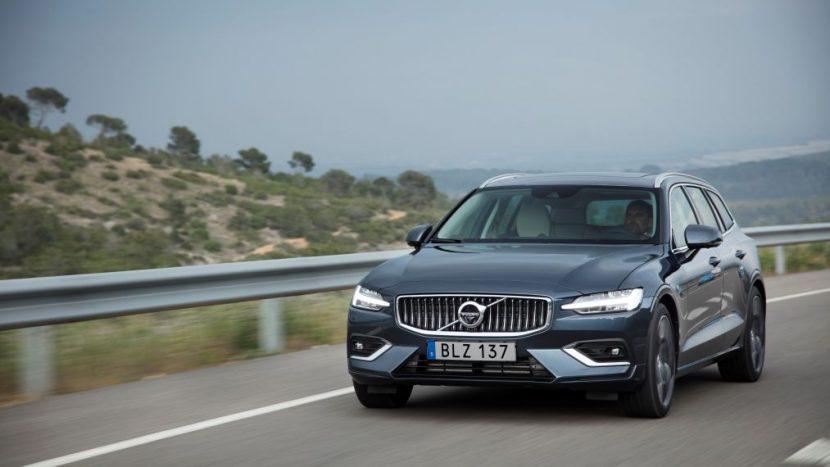 test drive Volvo V60 50