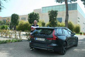 test drive Volvo V60