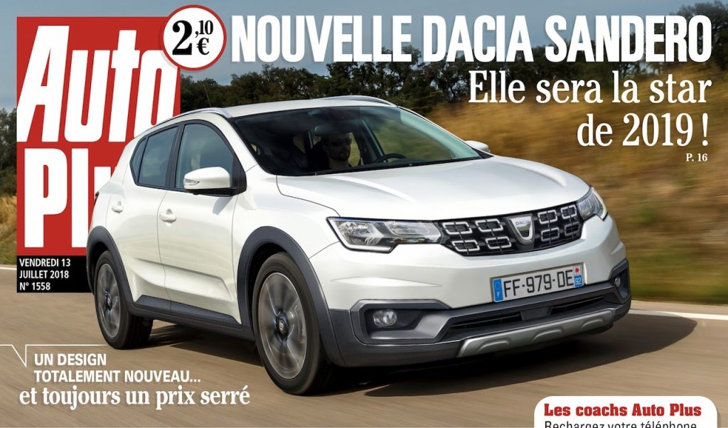 noua Dacia Sandero