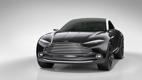 SUV-ul Aston Martin DBX va primi o platformă nou-nouță și motor AMG