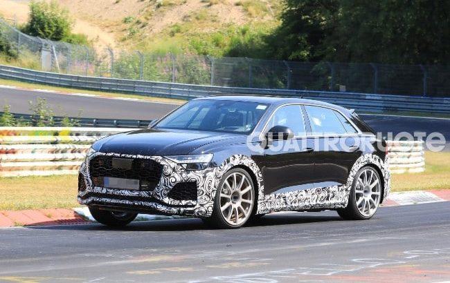 Audi RS Q8 a ieșit pe circuit