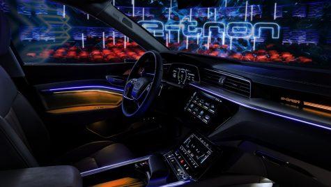 Interiorul Audi e-tron a fost dezvăluit