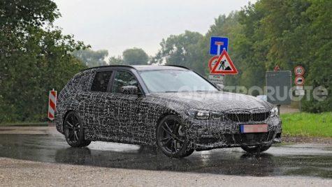 BMW Seria 3 Touring a ieșit la teste
