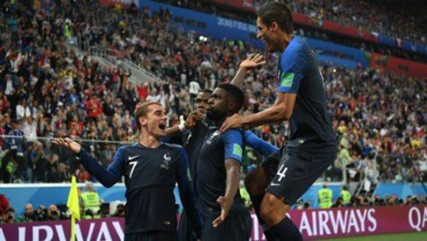 World Cup 2018- Meciul 61: Franța-Belgia 1-0