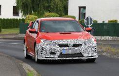 Honda Civic Type R 2019 – Ce ascunde camuflajul?