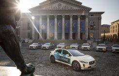Jaguar I-Pace este taxi la Munchen