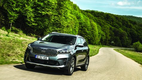 Drive test Kia Sorento 2.2 DSL Cosmo AT 4×4