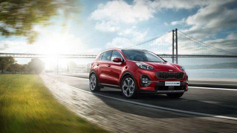 Kia Sportage facelift are preț de pornire de 18.663 de euro