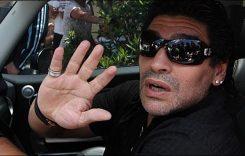 Maradona a fost prins băut la volan