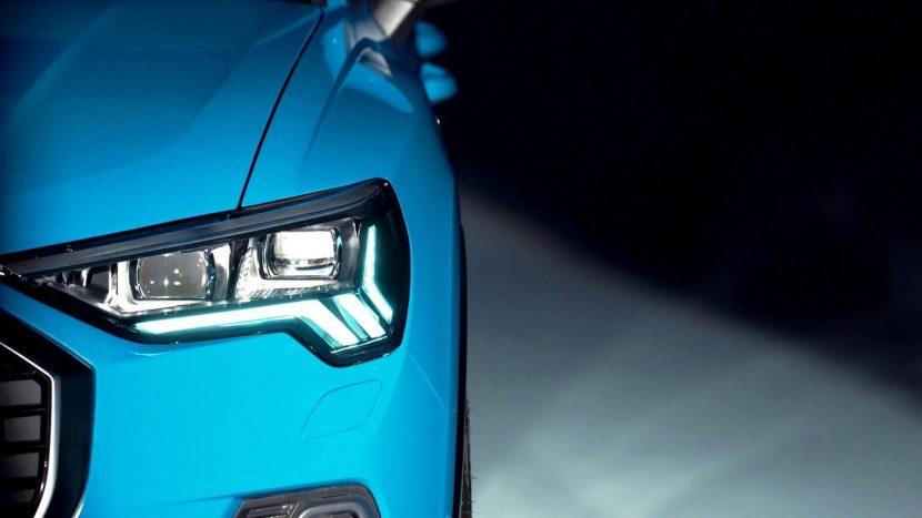Audi Q3 teaser