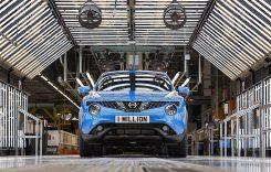 Nissan Juke – 1.000.000 de mașini produse la uzina din Sunderland