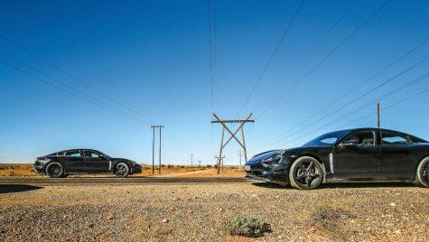Porsche Taycan testează în Africa de Sud