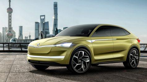 Skoda Electric RS vine în 2022