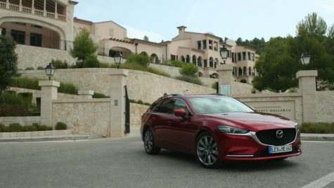 Test drive Mazda6 facelift