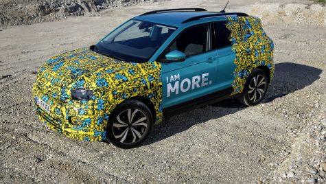 Teaser: Volkswagen T-Cross va fi una dintre cele mai sigure mașini din clasa sa