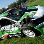 Raliul Harghitei 2018 suspendat – Pilotul Dan Gârtofan implicat într-un accident teribil