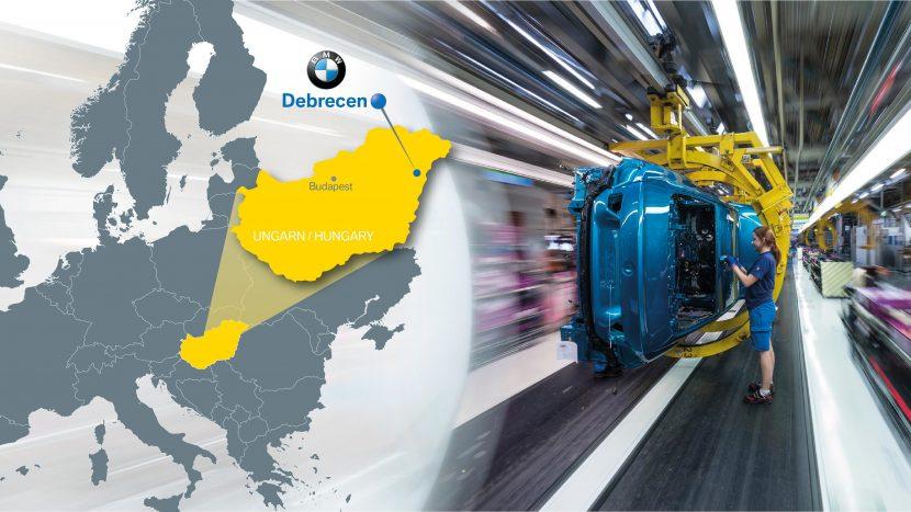 rețeaua de producție BMW 2