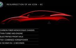 Viitorul supercar Alfa Romeo 8C. Tot ce știm