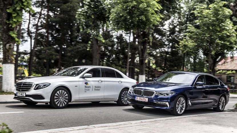 Test comparativ BMW 530e vs Mercedes E 350 e