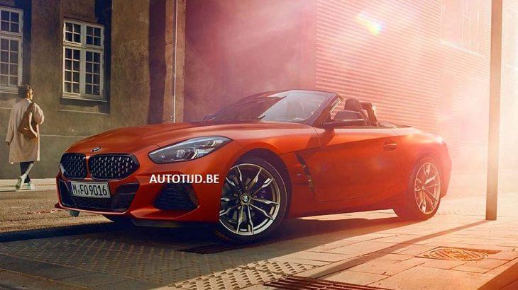 Primele fotografii cu BMW Z4 au apărut pe internet