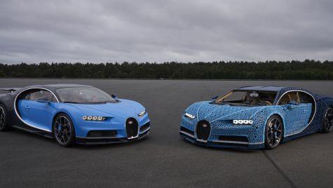 Bugatti Chiron din piese LEGO, în mărime naturală, este complet funcțional!