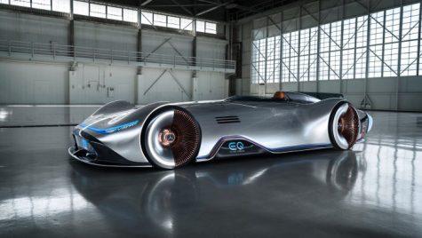 Oficial: Conceptul Mercedes-Benz EQ Silver Arrow, inspirat de o mașină de record