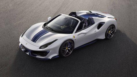 Oficial:  Noul Ferrari 488 Pista Spider este decapotabila cu numărul 50 a italienilor