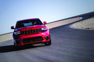 Test drive - Jeep Grand Cherokee Trackhawk