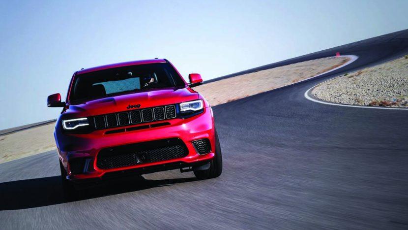 Test drive - Jeep Grand Cherokee Trackhawk